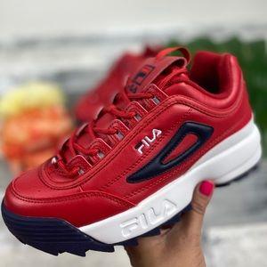 Fila Disruptor II Premium red